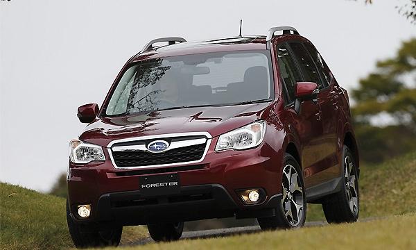 Новый Subaru Forester поступил в продажу