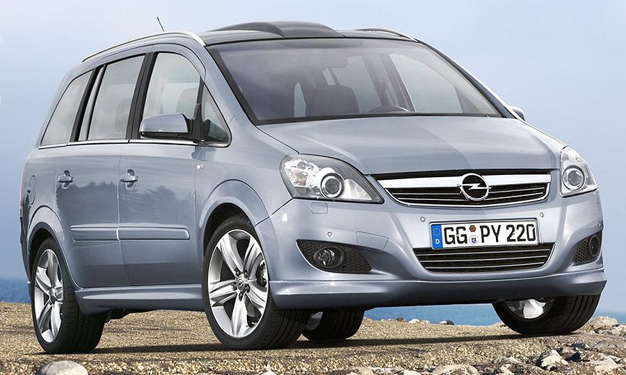 Opel Zafira – машина для семьи