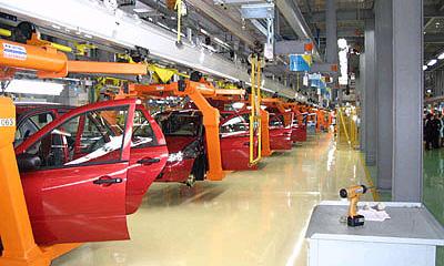 Производство автомобилей в РФ январе 2006 г выросло на 10,1%
