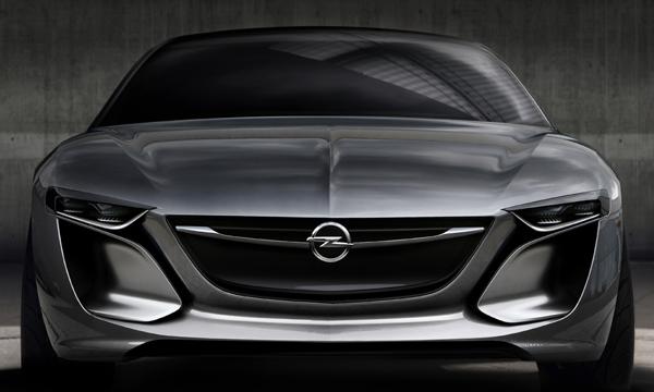 Концепт Opel Monza показали на фотографии