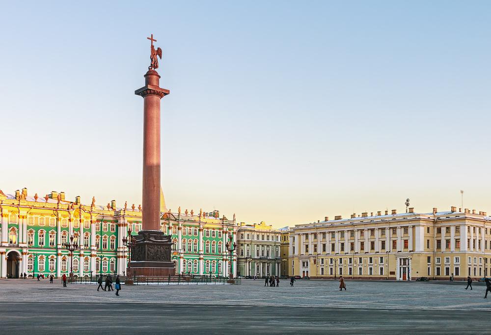 Дворцовая площадь Санкт-Питербурга