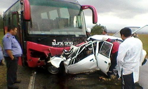 В ДТП между автобусом и легковушкой виноват водитель «Москвича»