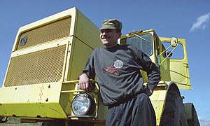 Нетрезвый колхозник угнал трактор на Украину