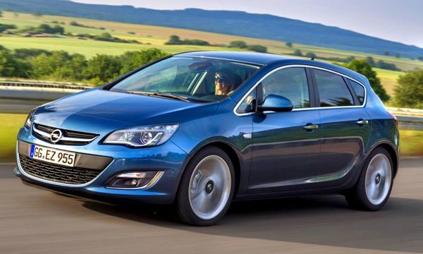 Новая Opel Astra получит трехцилиндровые моторы