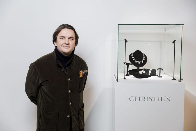 Жюльен-Винсент Бруни, глава департамента частных ювелирных продаж Christie's