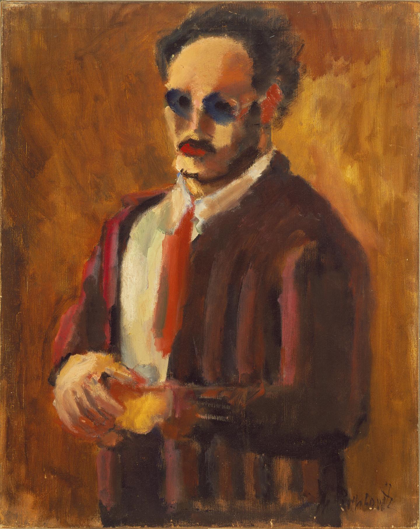 Марк Ротко.«Автопортрет», 1936