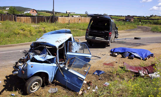 В 2005 году количество ДТП с участием пьяных водителей в РФ снизилось на 10%
