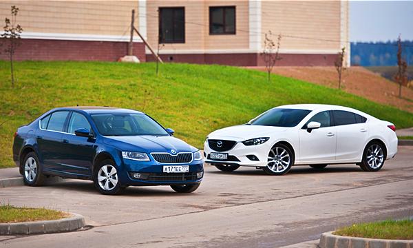 Тест на практичность: Mazda6 против Octavia