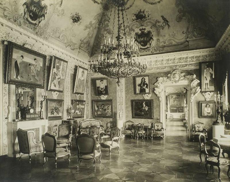 Зал Матисса в особняке С.И. Щукина, 1913