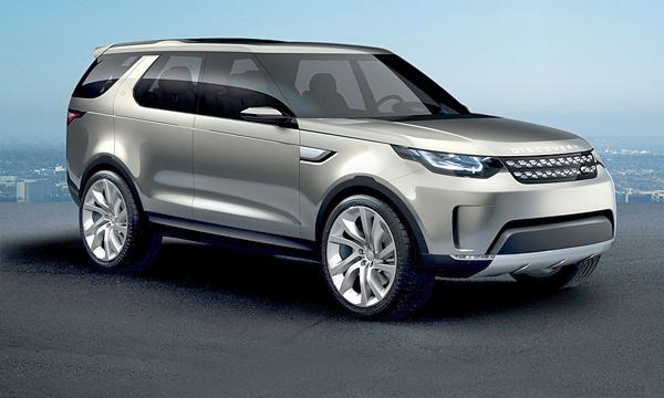 Land Rover Discovery будет похож на Evoque