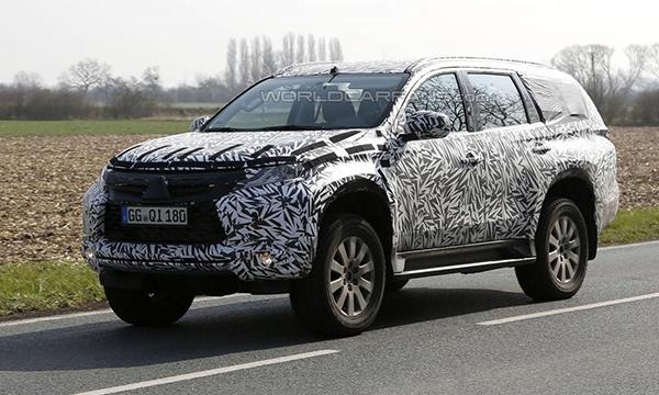 Новый Mitsubishi Pajero впервые замечен на тестах