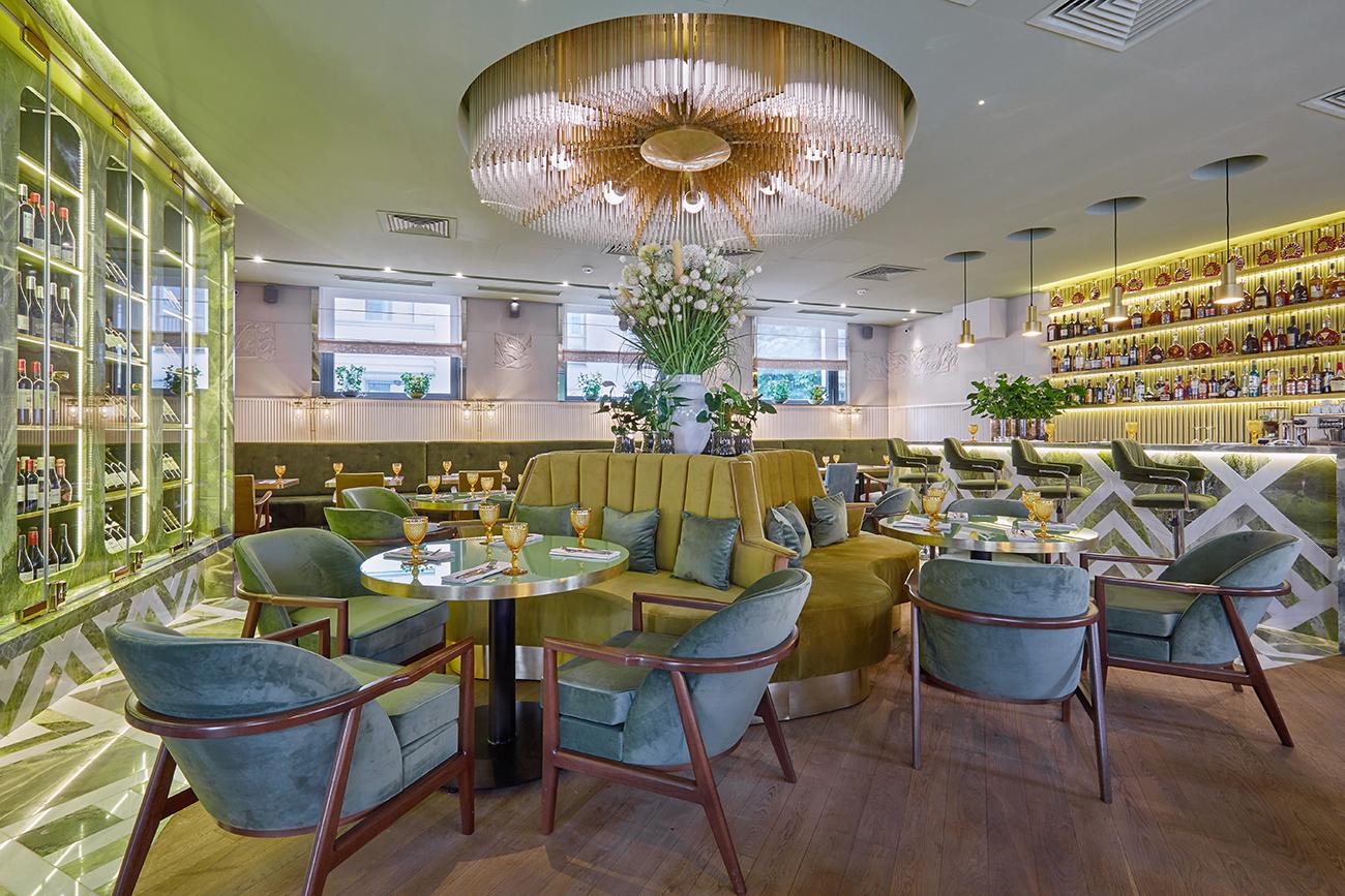 Обновленный интерьер ресторана «Жеральдин»