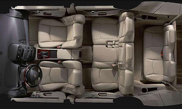 Самое безопасное место в автомобиле - посередине сзади