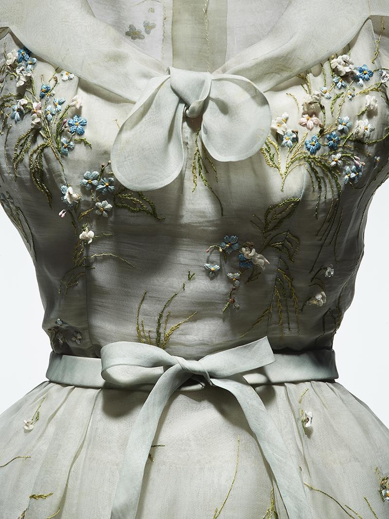 Платье Christian Dior Haute Couture, 1953