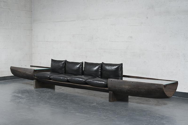 Галерея Chastel Maréchal, диван, Хосе ЗанинКалдес
