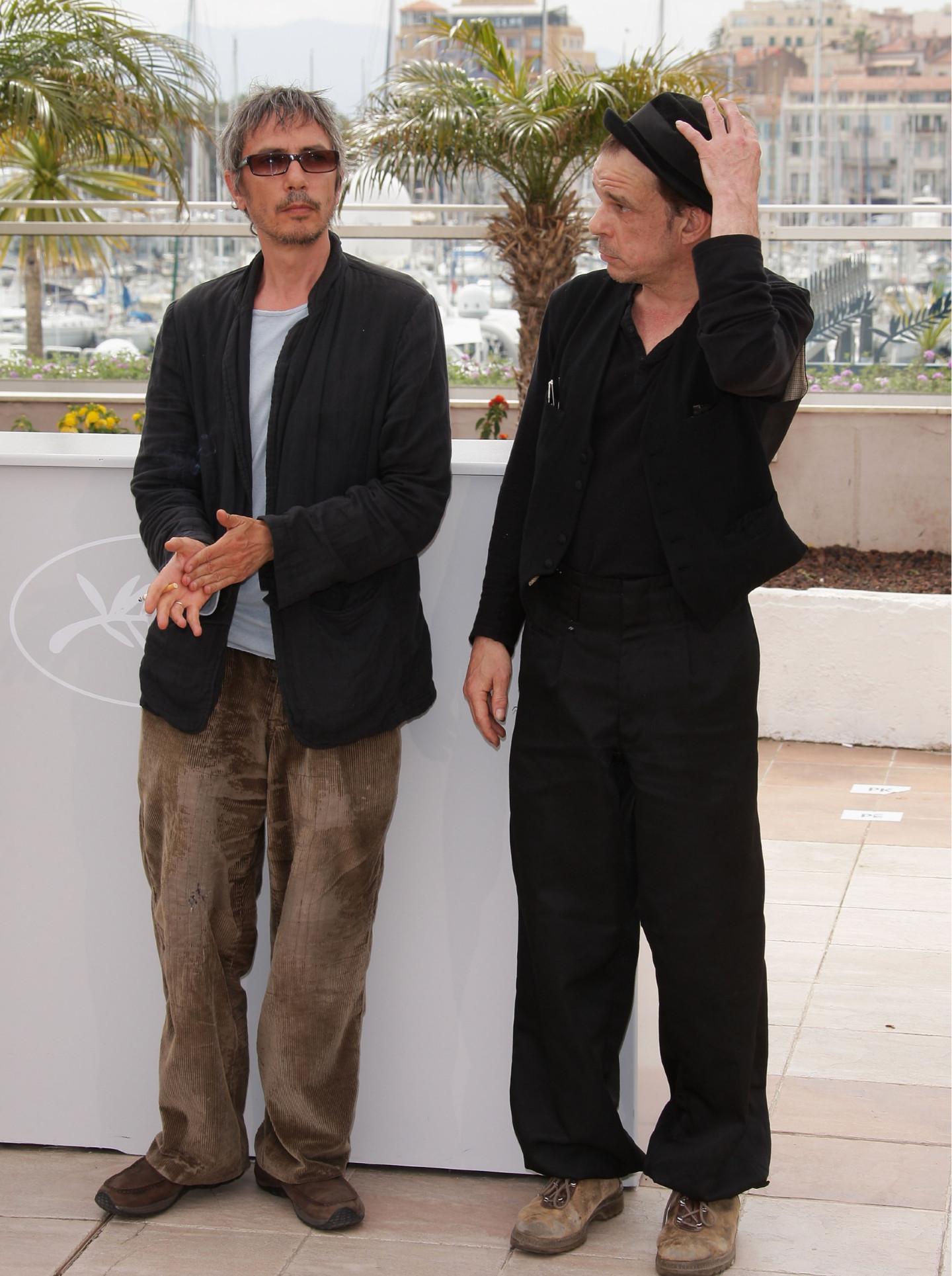 Леос Каракс и Дени Ланванна Каннском кинофестивале 2008 года, где был показан фильм «Токио!»