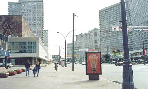 Московские власти планируют сделать Новый Арбат пешеходным