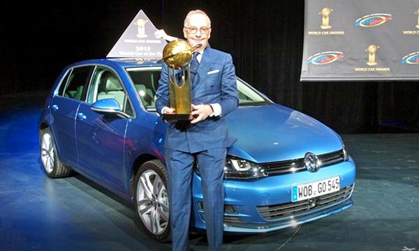Volkswagen Golf назвали автомобилем года
