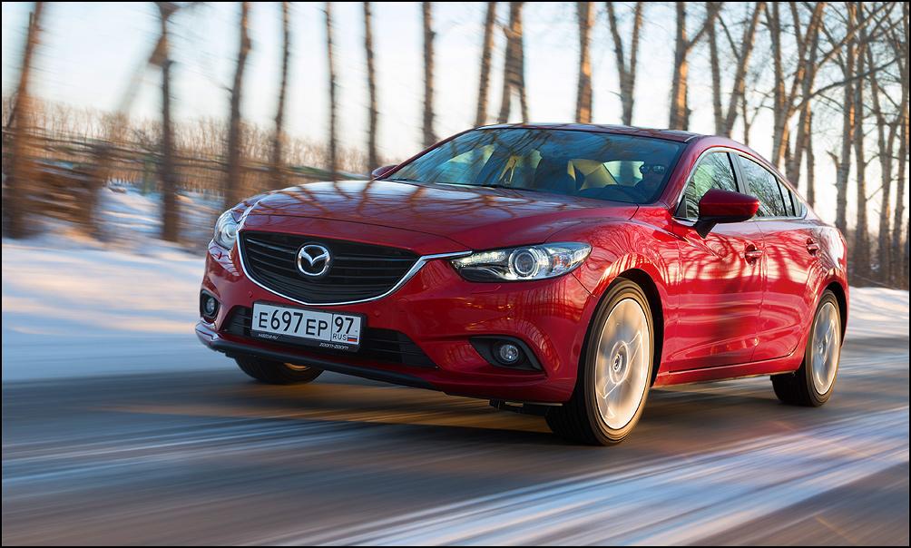 20 сантиметров. Тест-драйв Mazda6