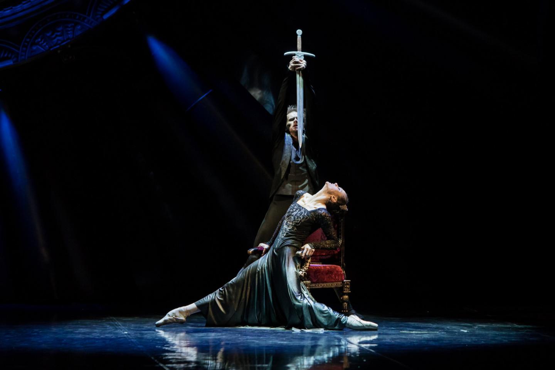 Сцена из балета «Русский Гамлет»