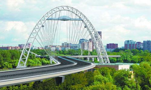 Вантовый мост в Серебряном бору откроют 1 января