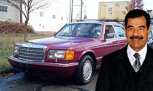 У сержанта армии США конфисковали машину Саддама Хусейна