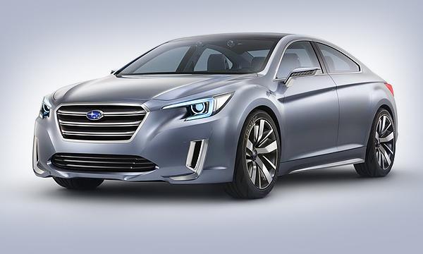Новый Subaru Legacy покажут в Лос-Анджелесе