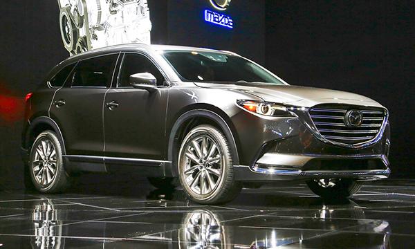 ЛА-2015: Mazda CX-9, Mercedes GLS и другие премьеры мотор-шоу