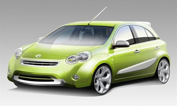 Новый Smart будет сделан из массового Nissan