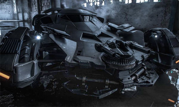 В сети рассекретили автомобиль из фильма Бэтмен против Супермена