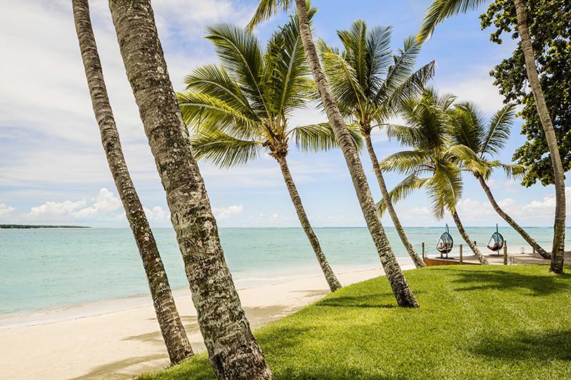 Пляж на курорте One&Only Le Saint Géran