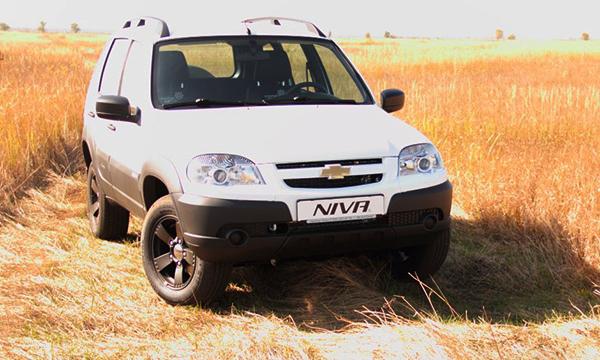 Спецверсия Chevrolet Niva получит подогрев задних сидений