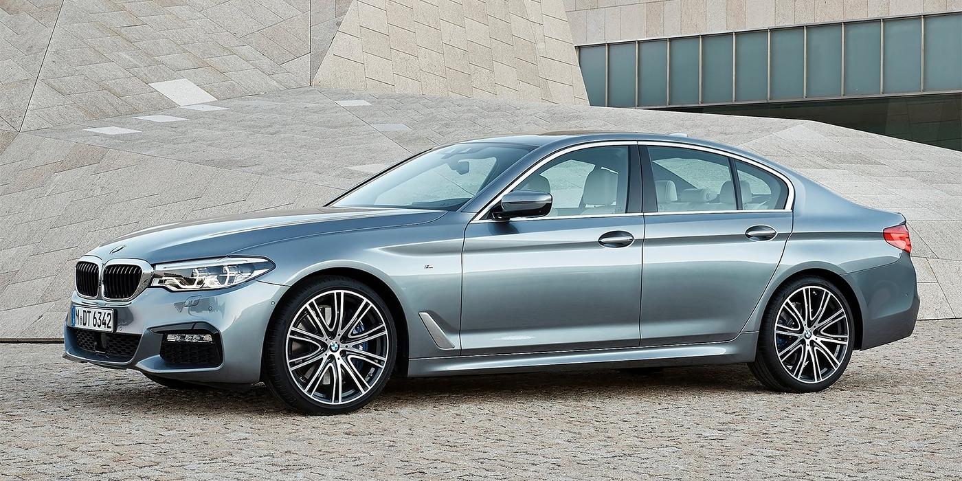 BMW представила «пятерку» нового поколения