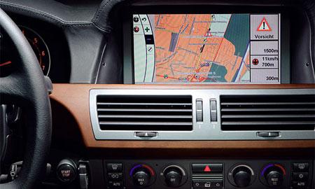 BMW будет комплектовать GPS картами Москвы и Подмосковья