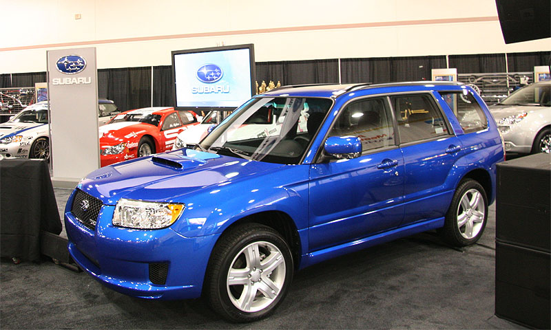 Subaru представила спортивные версии Forester