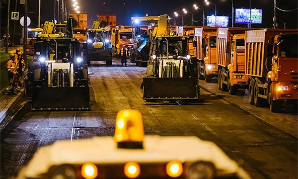 Власти Москвы опубликовали карту ремонта дорог