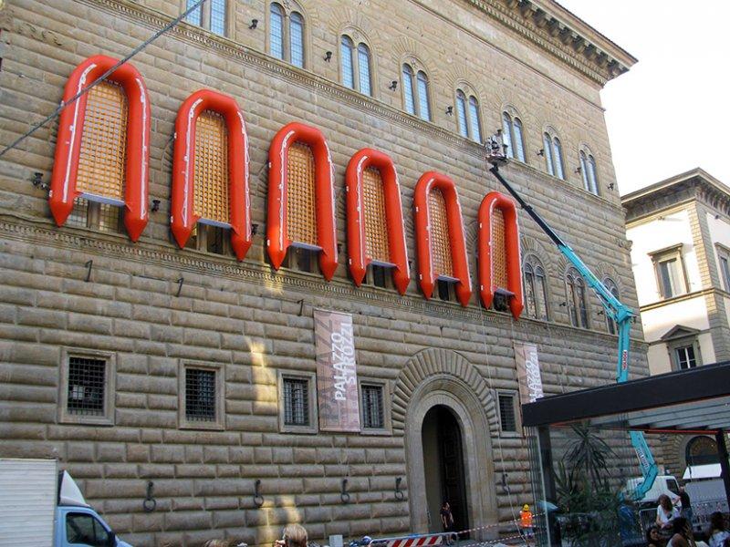 Фасад флорентийского Палаццо Строцци