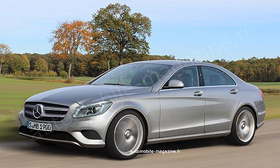 Внутри Mercedes-Benz C-класса устроили революцию
