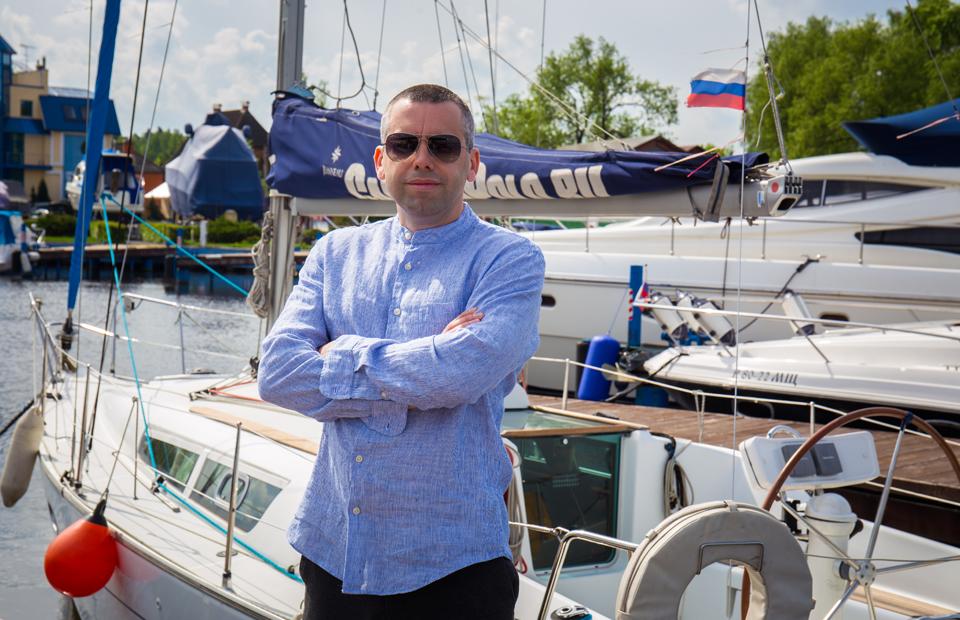 Основатель проекта City Marina Михаил Василенко