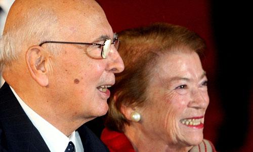 Джорджо и Клио Наполитано
