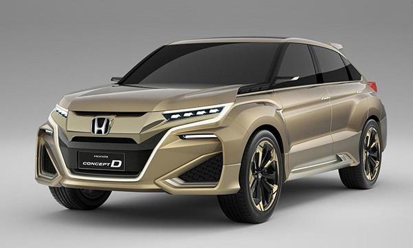 Новый кроссовер Honda получит имя UR-V