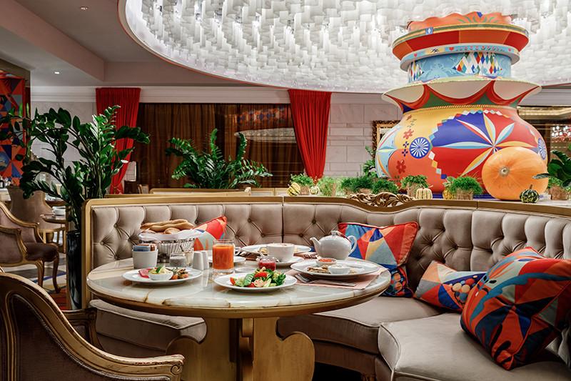 Ресторан Ovo, Lotte Hotel Moscow