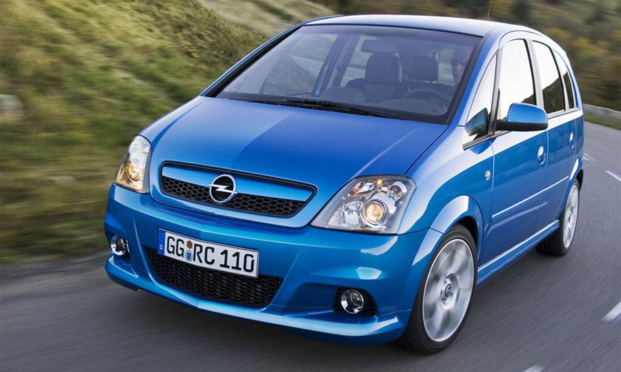 В конце года в России появится спортивный Opel Meriva OPC