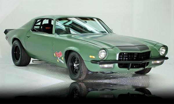 Vin Diesel's 1973 Camaro F-Bomb