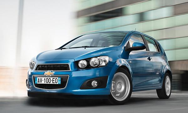 General Motors отзовет в России Chevrolet Aveo 2014 года
