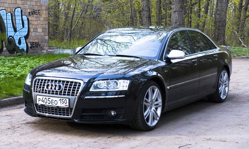Тест Audi S8