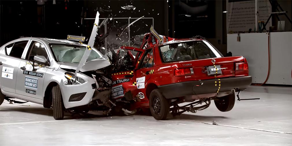 Парное выступление: зачем автомобили разбивают друг о друга
