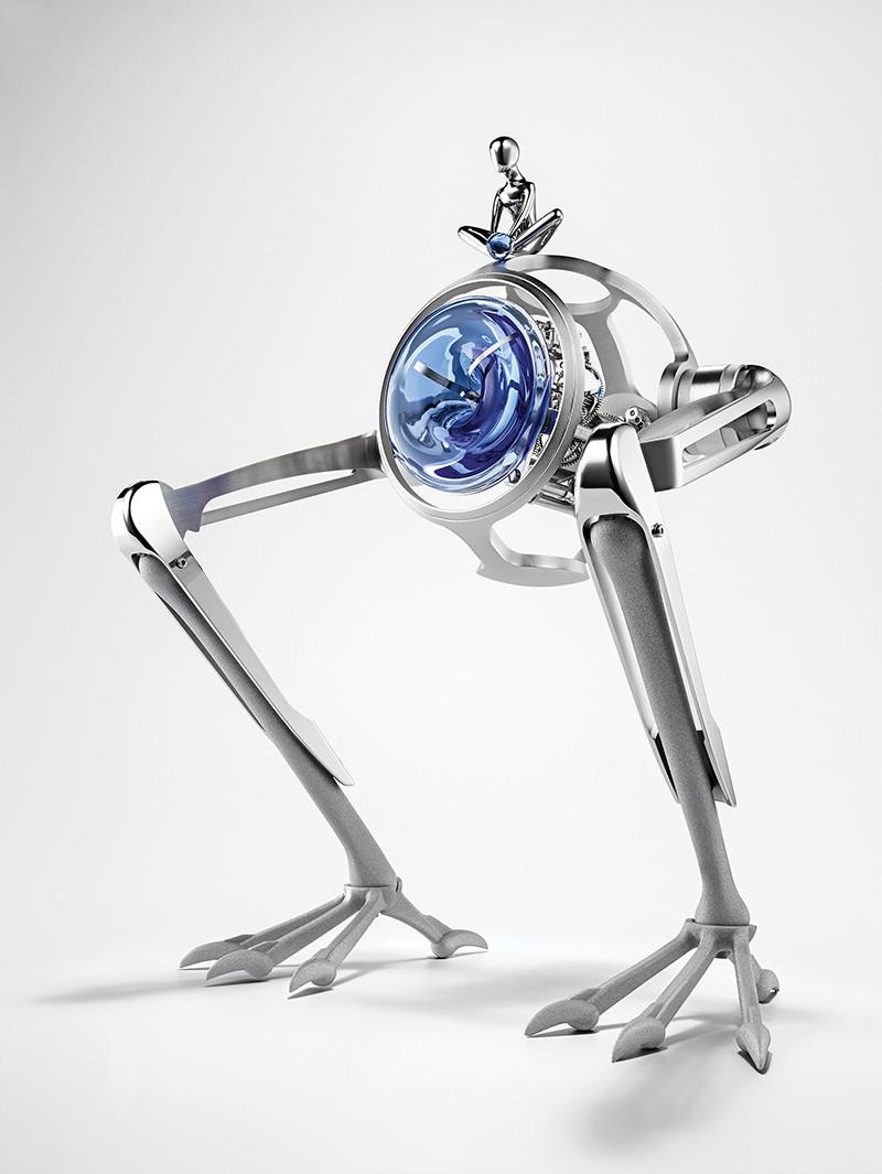 Настольные часы Tom & T-Rex,MB&F и L'Epée 1839 (20–40 тыс. франков)