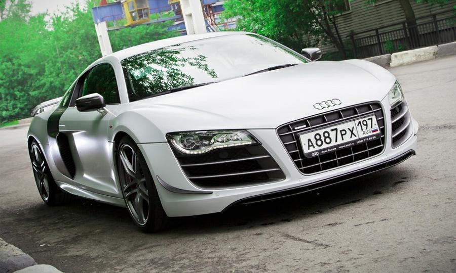 Audi R8 GT – белый конь Всадника Апокалипсиса