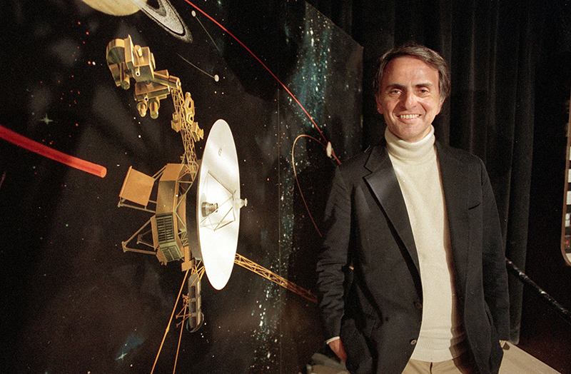 Карл Саган, американский астроном